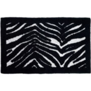 Creative Bath™ Zebra Bath Rug
