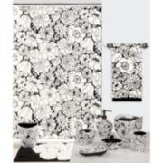 Creative Bath™ Black & White Bath Collection