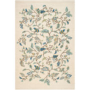 Martha Stewart Rugs™ Autumn Woods Rectangular Rugs – Colonial Blue