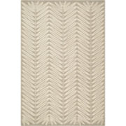 Martha Stewart Rugs™ Chevron Leaves Rectangular Rugs – Chamoise Beige