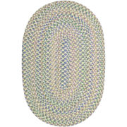 Tropical Delight Reversible Braided Oval Rugs