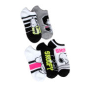 Peanut Snoopy 5-pk. No-Show Socks