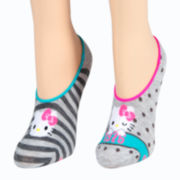 Hello Kitty® 2-pk. Liner Socks