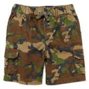 Arizona Pull-On Cargo Shorts – Boys 2t-5t