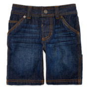 Arizona Denim Carpenter Shorts – Boys 2t-5t