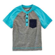 Arizona Short-Sleeve Henley - Boys 2t-5t