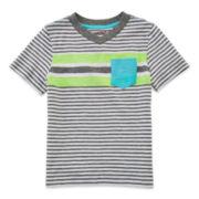 Arizona Short-Sleeve Striped Tee – Boys 2t-5t
