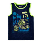 Arizona Graphic Muscle Tank Top – Boys 2t-5t