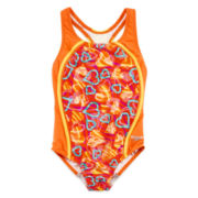 Speedo® Heart 1-pc. Swimsuit - Girls 7-16