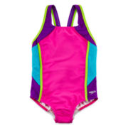 Speedo® Pink 1-pc. Swimsuit - Girls 7-16