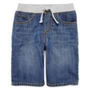 Arizona Pull-On Denim Shorts - Preschool Boys 4-7