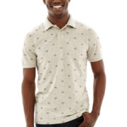 Arizona Short-Sleeve Printed Polo