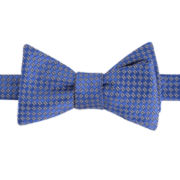 Claiborne® Dot Self-Tied Bow Tie