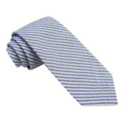 Stafford® Seersucker Stripe Tie