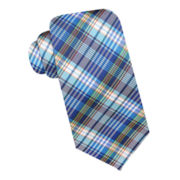 Stafford® San Diego Plaid Silk Tie