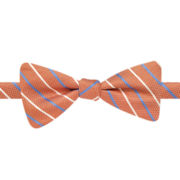 Stafford® Conway Striped Pre-Tied Bow Tie