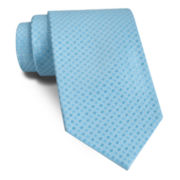 Stafford® Shiny Grid Silk Tie