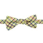 Stafford® Inmon Plaid Pre-Tied Bow Tie