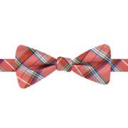 Stafford® Richland Plaid Pre-Tied Bow Tie