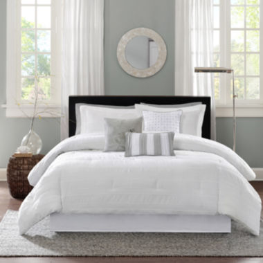 jcpenney.com | Madison Park Sheridan 7-pc. Comforter Set
