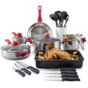 Philippe Richard® 24-pc. Stainless Steel Cookware Set