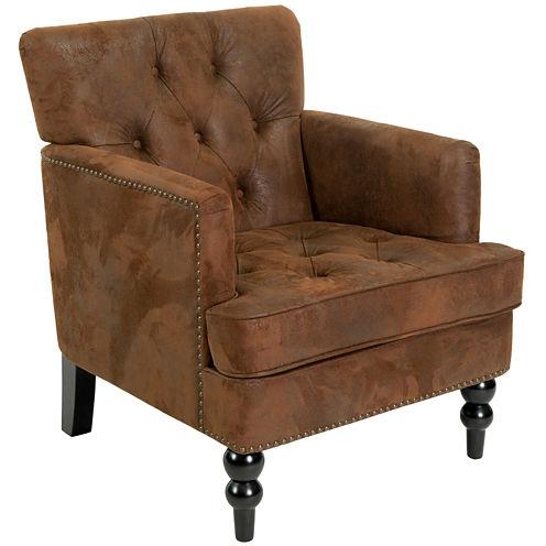 Mikaella Fabric Club Chair