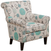 Cannon Floral Club Chair