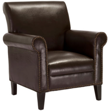jcpenney.com | Rae Studded Bonded Leather Club Chair