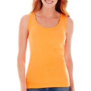 St. John's Bay Essential Ribbed Tank Top