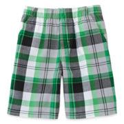Okie Dokie® Plaid Shorts – Boys 4-7
