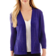 Worthington® Open-Front Cardigan Sweater