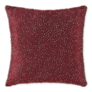JCPenney Home™ Sparkle Beaded Decorative Pillow