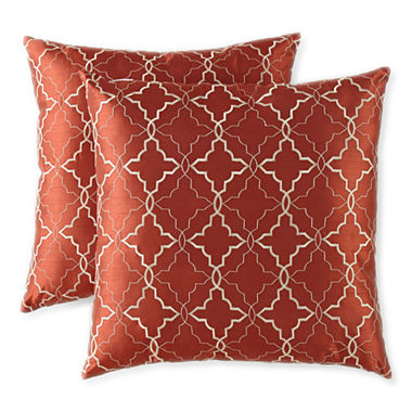JCPenney Home Ogee 2-pack Decorative Pillows