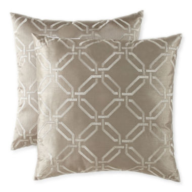 jcpenney.com | JCPenney Home™ Geometric 2-Pack Decorative Pillows