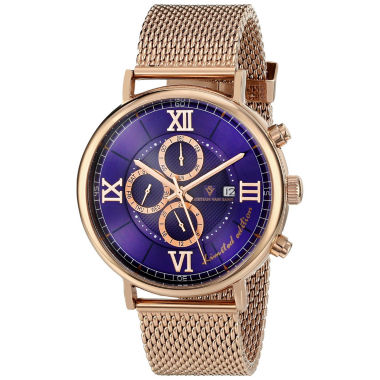 jcpenney.com | Christian Van Sant Mens Rose Goldtone Bracelet Watch-Cv1128