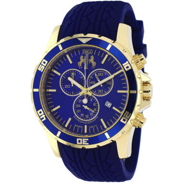 jcpenney.com | Jivago Mens Blue Strap Watch-Jv0123
