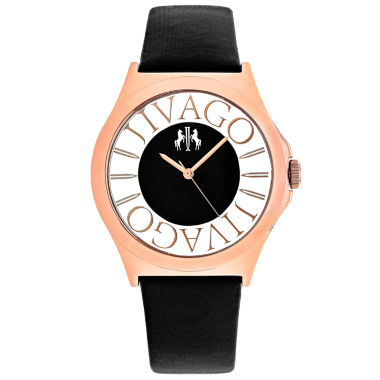 jcpenney.com | Jivago Womens Black Strap Watch-Jv8431