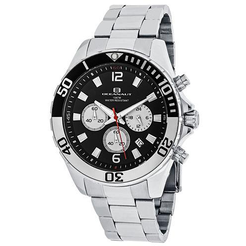 Oceanaut Mens Silver Tone Bracelet Watch-Oc2524