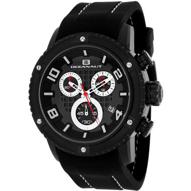 jcpenney.com | Oceanaut Mens Black Strap Watch-Oc3124r
