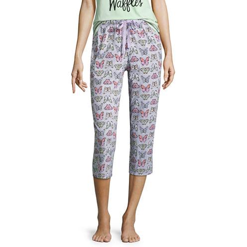 Sleep Chic Pattern Pajama Pants