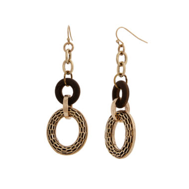 jcpenney.com | El By Erica Lyons Gold Over Brass Drop Earrings