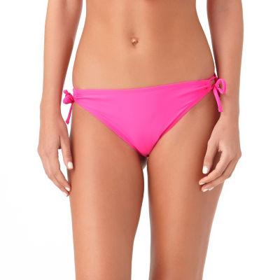 Arizona Keyhole Side-Tie Hipster Swim Bottoms