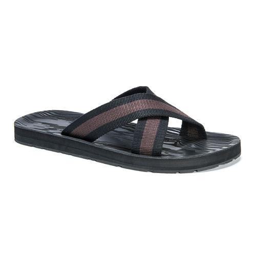 Muk Luks Strap Sandals