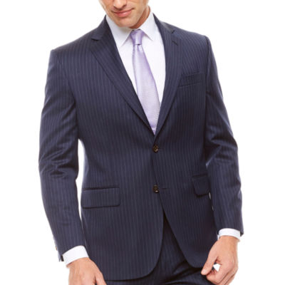 Stafford Classic Fit Stripe Suit Jacket