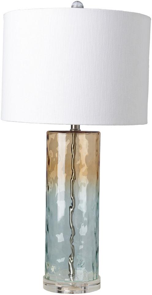 Décor 140 Tynlu 14x14x28 Indoor Table Lamp - Blue