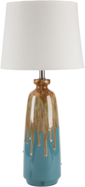 jcpenney.com | Décor 140 Wilhelm 28x13x13 Indoor Table Lamp - Blue