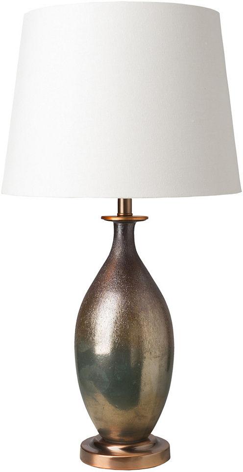 Décor 140 Yuerran 16x16x30.25 Indoor Table Lamp -Brown