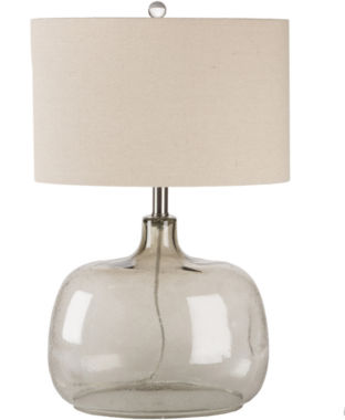 jcpenney.com | Décor 140 Antoine 24.5x8.5x16 Indoor Table Lamp -Ivory
