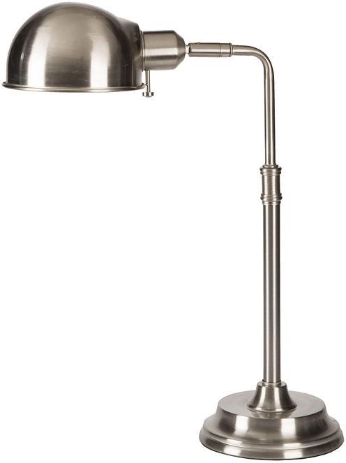 Décor 140 Aspdin 18.5x6x14 Indoor Task Lamp - Silver