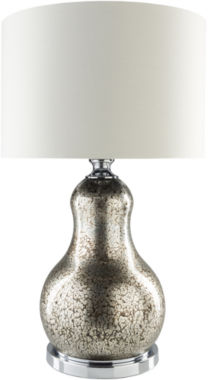 jcpenney.com | Décor 140 Baeyer  28x17x17 Indoor Table Lamp - Silver